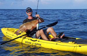 Brand new Ocean Kayak Trident 13 Angler fishing/touring kayak reduced from $2719 to $1999! SAVE $720!