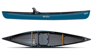 Brand new Old Town Next single person lightweight canoe.