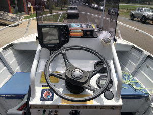 2002 QUINTREX DORY CENTRE CONSOLE ALUMINIUM with 2017 YAMAHA 60HP 4-STROKE (54.2hrs) Reduced $1,500