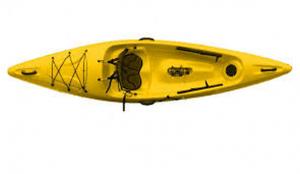 Brand new L'attitude Triton 10 Thermo-lite lightweight sit on top kayak.