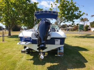 550 Runabout Northbank, 115hp Mercury 4 stroke & trailer