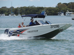 Stock Boat Quintrex 530 Freestyler with a Yamaha F115 Hp( Bow Rider ) Stock Boat