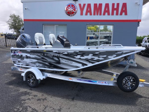 Quintrex 450 Hornet Trophy with 75hp Yamaha