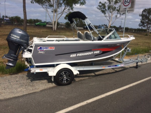 New Model Quintrex 450 Fishabout Pro F70 Yamaha Pack 4