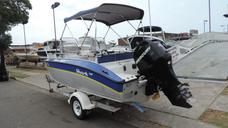 Silver Shark 580 Bowrider 2007