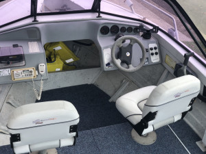 1998 Quintrex 488 Seabreeze with 70hp Yamaha 2-stroke (638Hrs)