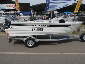 POLYCRAFT 530 Centre Console  powered by a  F115 HP   PACK 2