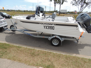 POLYCRAFT 530 Centre Console  powered by a  F130 HP   PACK 4