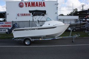 New Polycraft 480 Cuddy Cab  Pack 2 Powered by the F70 Yamaha