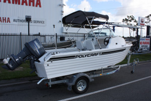 New Polycraft 480 Cuddy Cab  Pack 4 Powered by the F90 Yamaha