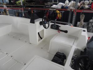 POLYCRAFT 450 DRIFTER Side Console Pack 1  Yamaha T60 Hp