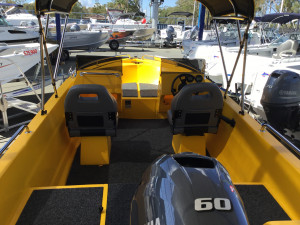 POLYCRAFT 450 DRIFTER  Front Runner Pack 3 Yamaha F60HP