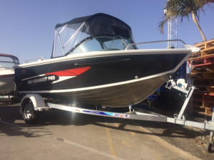 New Quintrex 430 Fishabout Pro Powered by the Yamaha F60  Four Stroke Pack 4