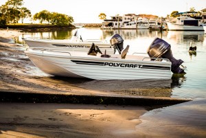 Polycraft 410 Challenger Side Console Our Pack 1 Powered by the Yamaha F 40