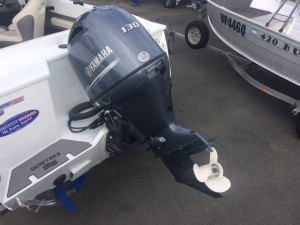 Quintrex 590 Top Ender Pro Our pack 1 powered by a Yamaha F130