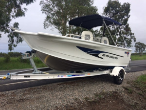 Quintrex 481Top Ender Pro Our Pack 3 Powered by a Yamaha F75 Four Stroke