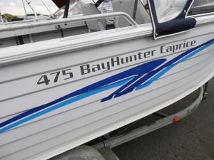 Quintrex 475 Bayhunter Runabout