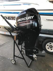 Used 60hp Mercury 4 stroke - Tiller