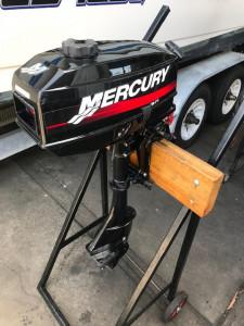 Used 3.3hp Mercury 2 stroke