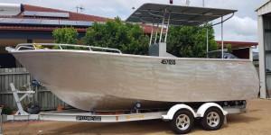 Fishing boat & trailer