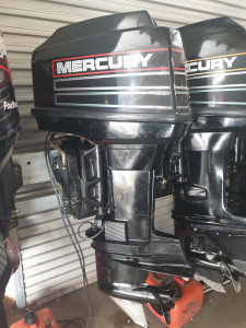 50hp Mercury 2 stroke fwd steer fitted price