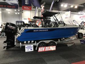 Bar Crusher 670BR Plate Aluminium Bow Rider
