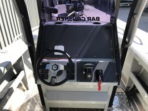 Bar Crusher 670XT Plate Aluminium Hard Top Centre Console