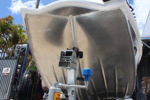 QUINTREX 440 HORNET TROPHY Tiller Steer powered with a Yamaha F 60 HP our Pack 4