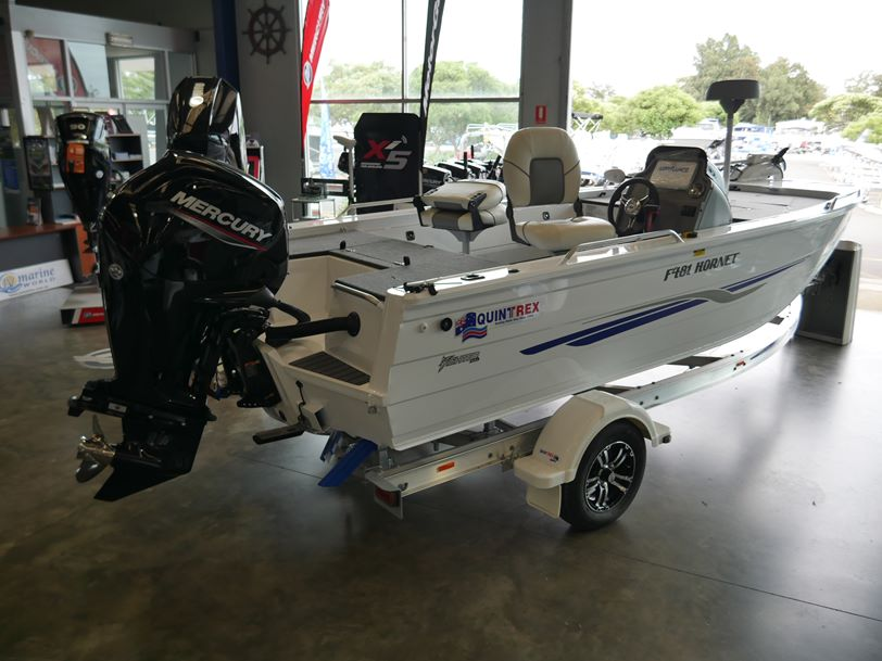 Quintrex F481 Hornet - Open Fishing Boat