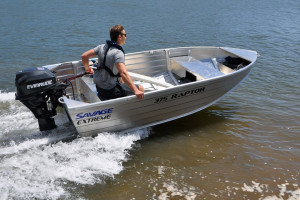 Brand new Savage 355 and 375 Raptor Extreme V-Punt aluminium boats.