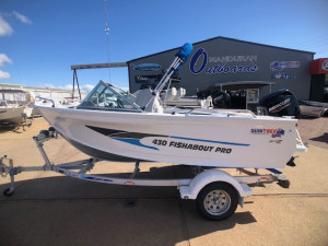 Quintrex 430 Fishabout Pro