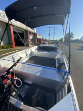 Used 2019 Bluefin 4.2 Rouge powered by 2019 40HP Mercury 4-stroke