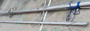 Alloy Mast & Boom- 8.1 m mast