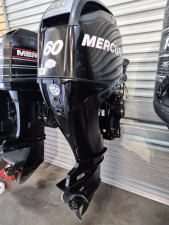 60hp Mercury 4 stroke  tiller steer