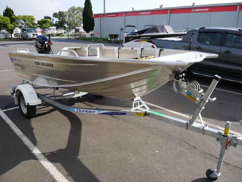 Quintrex 390 Outback Explorer Fishing Boat