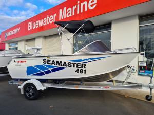 481 Seamaster Stacer, Aluminium trailer & 60hp Mercury 4 stroke