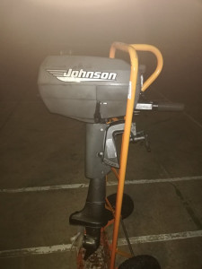 1998 Johnson 4hp Outboard