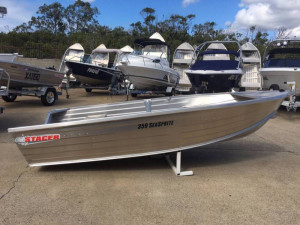 359 Seasprite Stacer Dinghy With carpeted floor