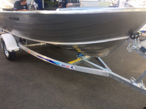 New Model  400 Quintrex Trigger Open Dinghy package