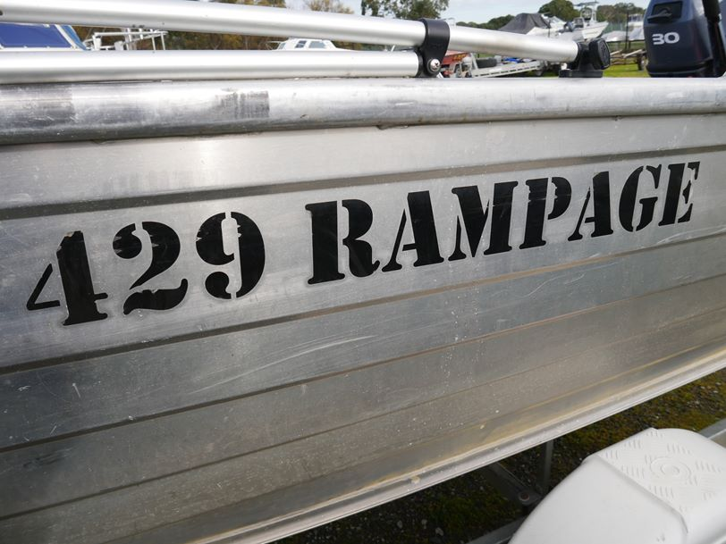 Stacer 429 Rampage - Open Boat Package