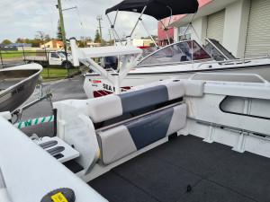 539 Seamaster Stacer, trailer & 115hp Mercury 4 stroke