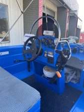 USED 2007 4.8 BRUMBY CENTRE CONSOLE WITH 2007 75HP MERCURY EFI -4-STROKE (535Hrs)