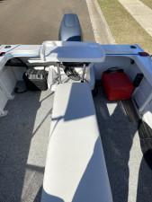 USED 2009 STESSCO MTUNE 440 RUNABOUT WITH USED 2010 40HP YAMAHA 2- STROKE