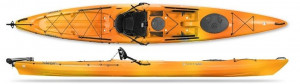 Brand new Tarpon 160 Sit on top touring kayak with rudder reduced from $2479 to $1939! Save $540