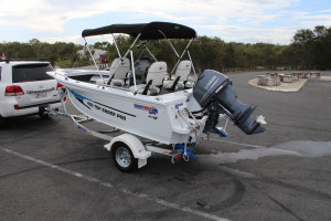 Quintrex 430 Top Ender Pro Yamaha F60 EFI 4 Stroke Our pack 4