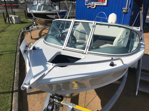 New Quintrex 481 Fishabout Pro fitted with a F 90 EFI 4 stroke Pack 4