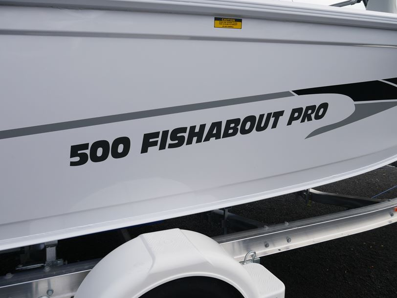 Quintrex 500 Fishabout PRO Runabout