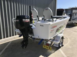 Stacer 429 Outlaw Tiller Steer 2021 Model - White