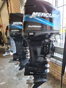 225hp Mercury Optimax PAIR FITTED PRICE