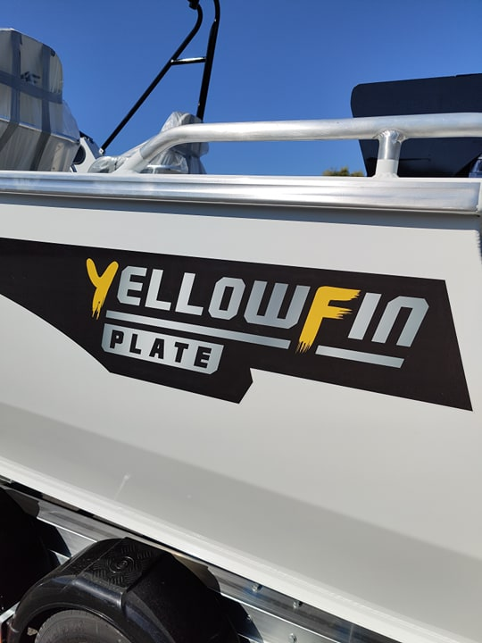 Yellowfin 6200 Cabin - Plate Offshore Fishing Boat